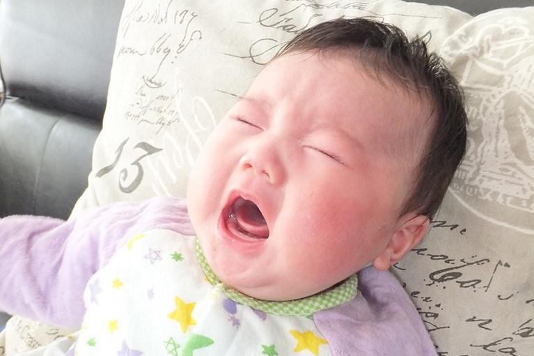 赤ちゃんの涙目治療